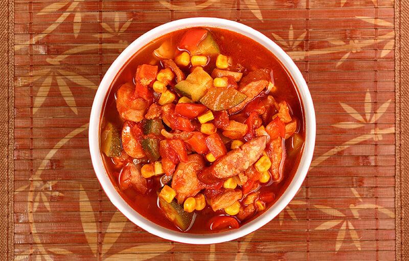 Slow Cooker Sausage and Zucchini Stew :: Grain-Free, Gluten-Free, Dairy Free
