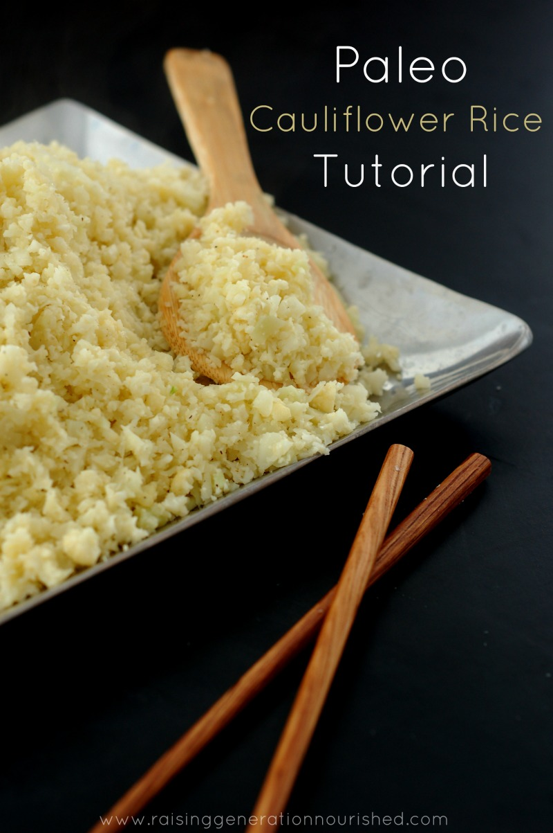 How to Make Perfect Cauliflower Rice :: A Grain-Free, Paleo Alternative To Rice // deliciousobsessions.com