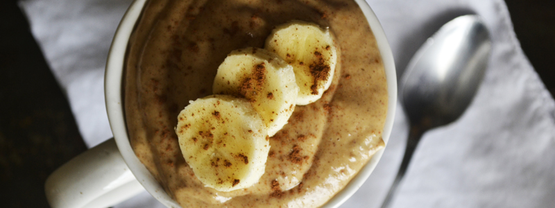Banana Nut Butter Pudding :: Gluten-Free, Dairy-Free, Paleo / Primal // deliciousobsessions.com