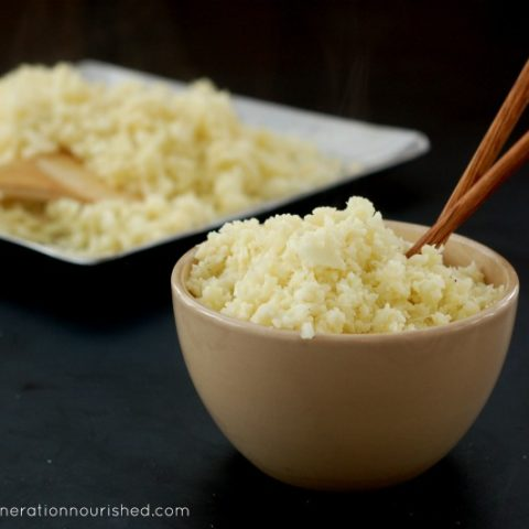 How to Make Perfect Cauliflower Rice :: A Grain-Free Alternative To Rice