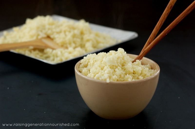 Cauliflower Rice Tutorial :: Grain Free Alternative To Rice