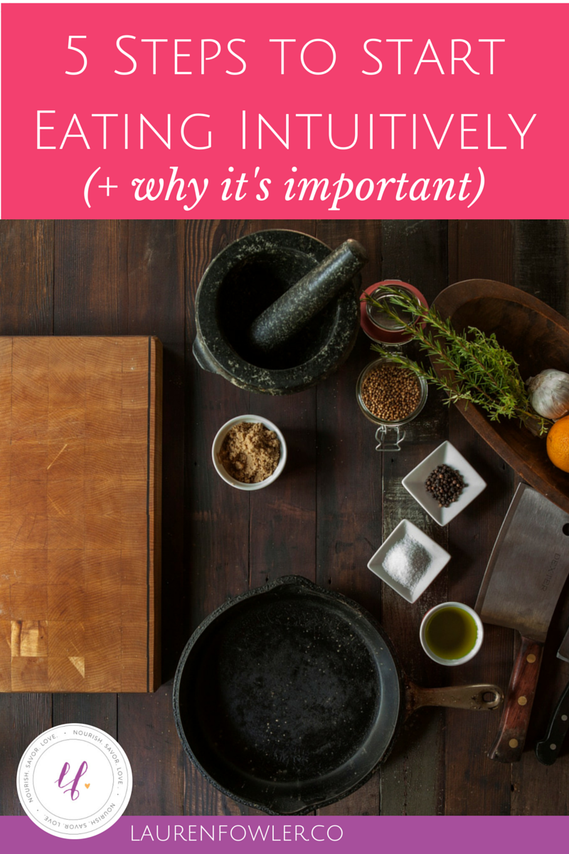 5 Steps to Start Intuitive Eating by Listening to your Body