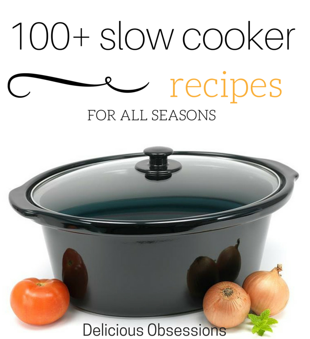 100+ Slow Cooker Recipes For All Seasons