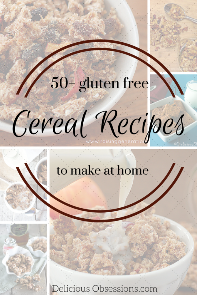 50+ gluten free cereal recipes
