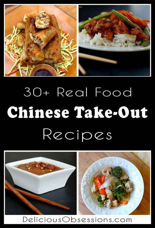 30+ Healthy Chinese Take-Out Recipes // deliciousobsessions.com