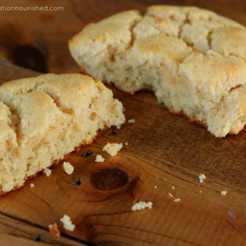 Paleo Biscuits :: Grain Free and Gluten Free (Perfect for breakfast, lunch, or dinner!) // deliciousobsessions.com
