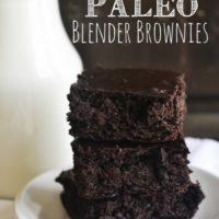 Death by Chocolate Blender Brownies :: Gluten-Free, Grain-Free, Dairy-Free