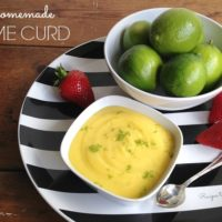 Homemade Lime Curd :: Gluten-Free, Grain-Free, Refined Sugar Free