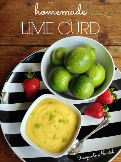 Homemade Lime Curd :: Gluten-Free, Refined Sugar Free // deliciousobsessions.com