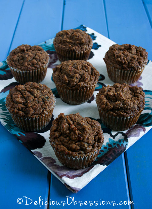 Banana Tigernut Muffins :: Grain-Free, Gluten-Free, Dairy-Free, Paleo / Primal // deliciousobsessions.com