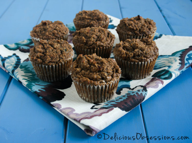 Banana Tigernut Muffins :: Grain-Free, Gluten-Free, Dairy-Free