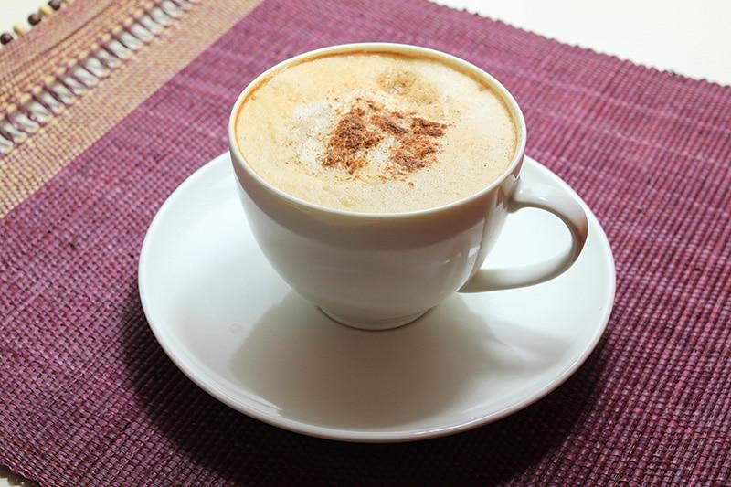 Vanilla Maca Latte :: Gluten-Free, Dairy-Free, Caffeine-Free
