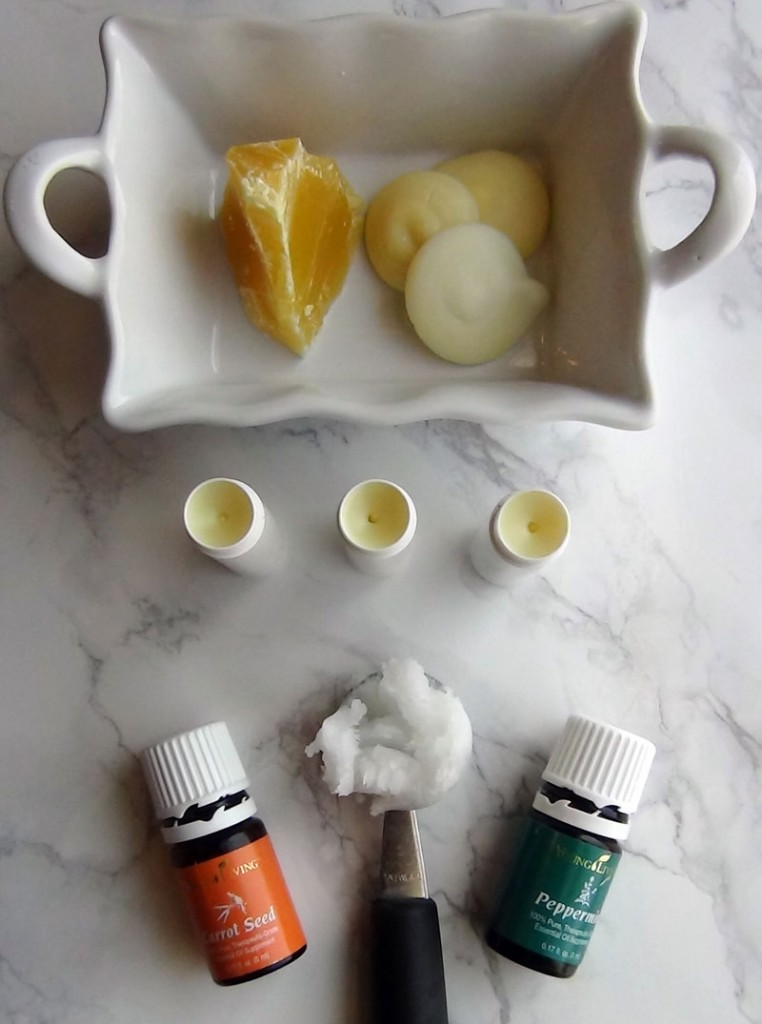 Homemade Skin Supporting Lip Balm // DeliciousObsessions.com