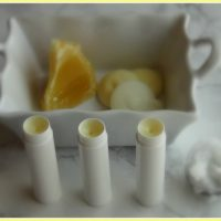 Homemade Anti-Aging Lip Balm with SPF