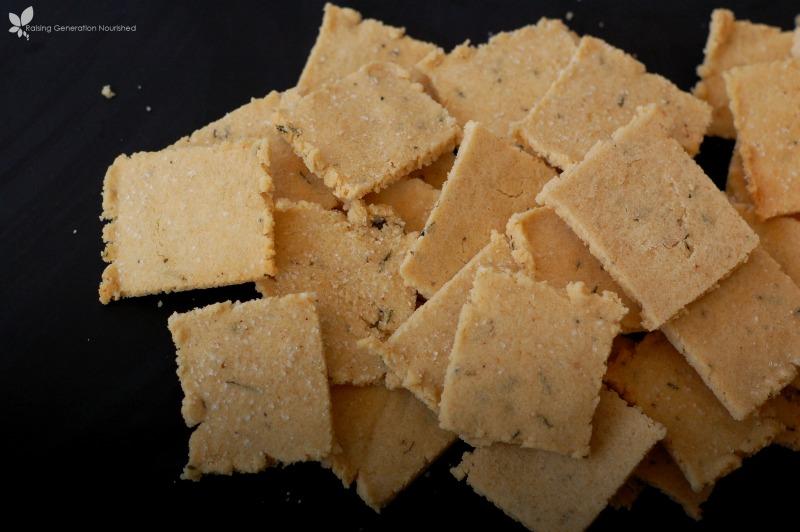 Grain-Free Herb Crackers :: Gluten-Free, Dairy-Free