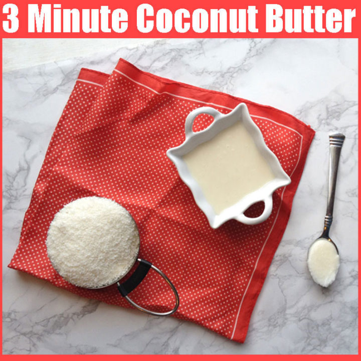 3 Minute Coconut Butter