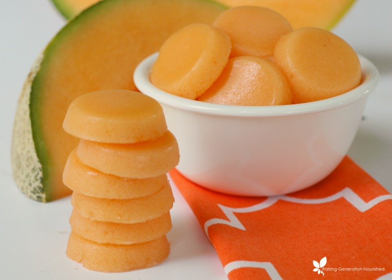 Melon Gummies A Delicious Way To Eat More Gelatin It's rind/skin is characteristically net like in appearance, and is often brown or green in color. melon gummies a delicious way to eat