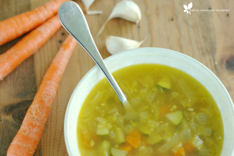 Recovery Soup :: Nourishment For Flu, Food Poisoning, Colds, and Illness