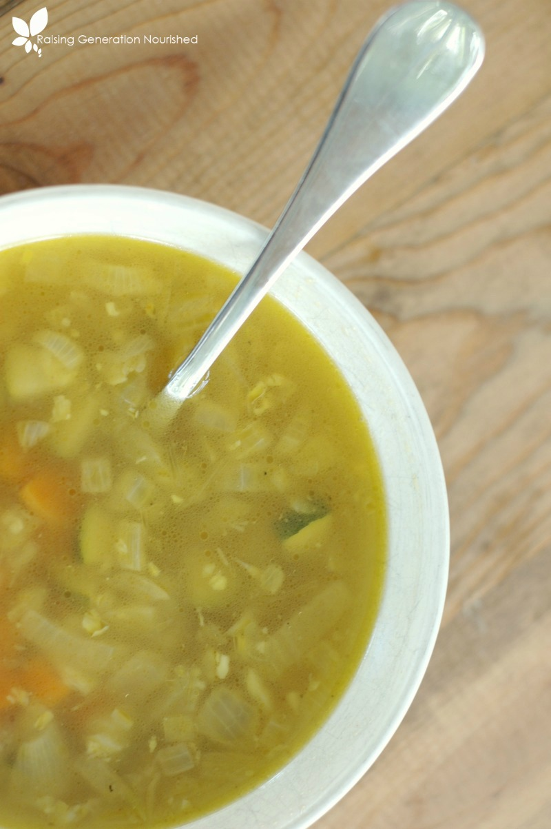 Recovery Soup :: Nourishment For Recover After Flu, Food Poison, Colds, & Illness