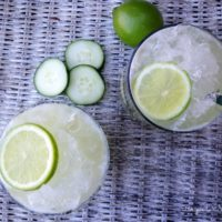 Cucumber Lime Agua Fresca :: Gluten-Free, Grain-Free, Dairy-Free, Refined Sugar-Free