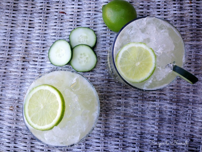 Cucumber Lime Agua Fresca | Delicious Obessions