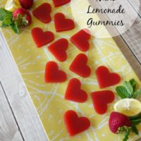 Strawberry Mint Lemonade Gummies :: Gluten-Free, Grain-Free, Dairy-Free, Refined Sugar-Free