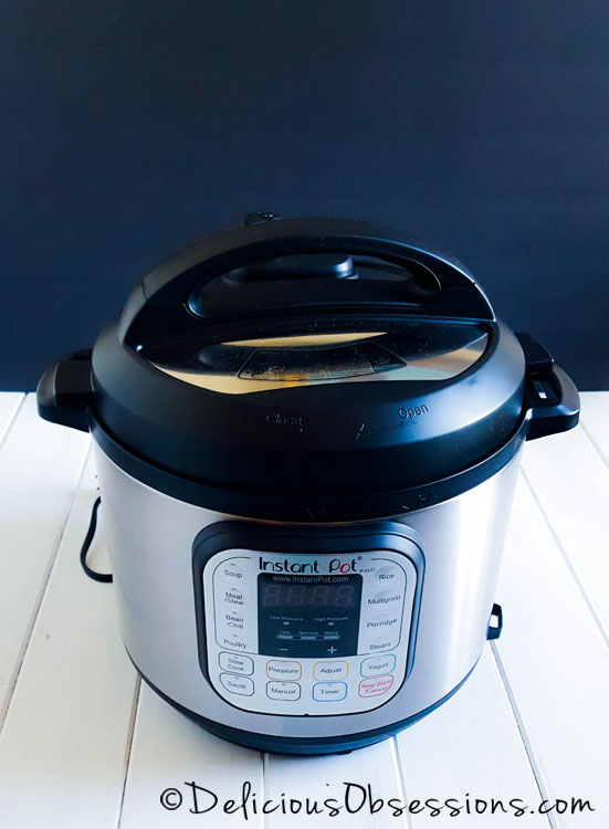 Instant Pot Review :: Save Space, Save Time, Save Money // deliciousobsessions.com