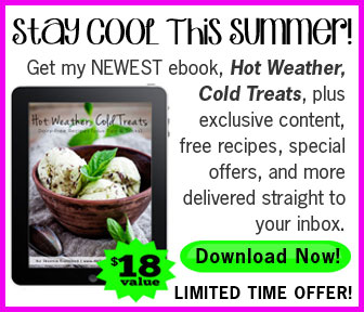 FREE Newsletter - Real Food Recipes and Natural Living Information, plus FREE eBook!