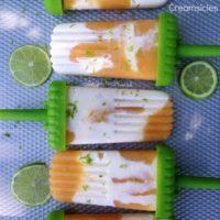 Peach Lime Creamsicles