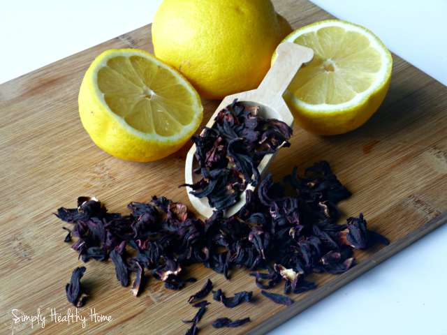 Hibiscus Lemonade :: Refreshing, Healthy, and Delicious