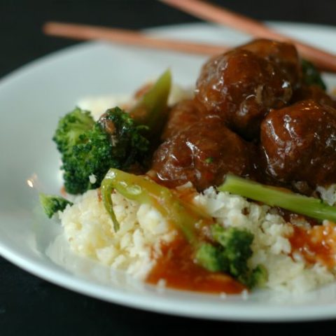 Sweet & Sour Asian Meatballs