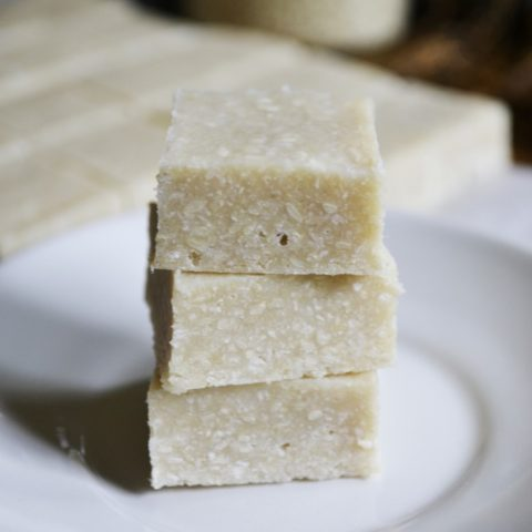 Sesame & Coconut Halva :: Gluten-Free, Grain-Free, Dairy-Free, Refined Sugar-Free