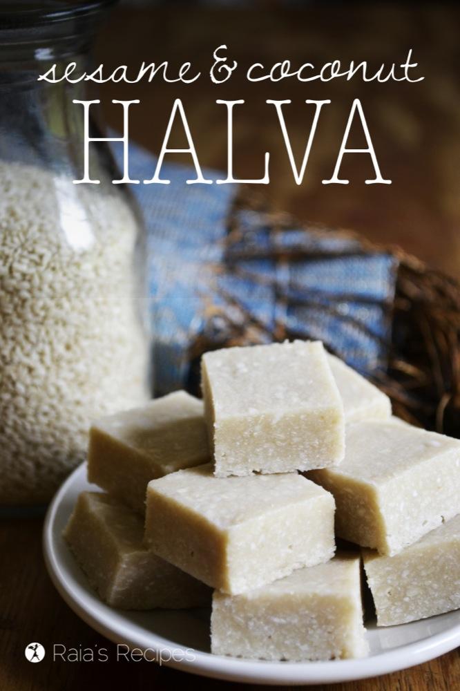 Sesame & Coconut Halva