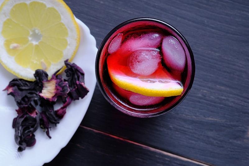 Easy Hibiscus Lemonade :: Gluten-Free, Dairy-Free, Refined Sugar-Free