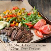 Skirt Steak Fajitas :: Gluten-Free, Grain-Free, Dairy-Free