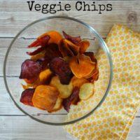 How to Make Homemade Baked Veggie Chips