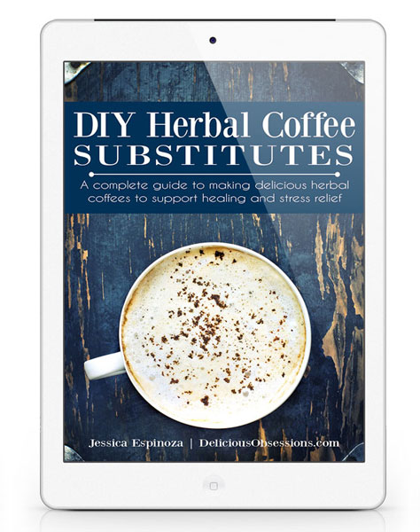 NEW DIY Herbal Coffee Blending Guide // deliciousobsessions.com