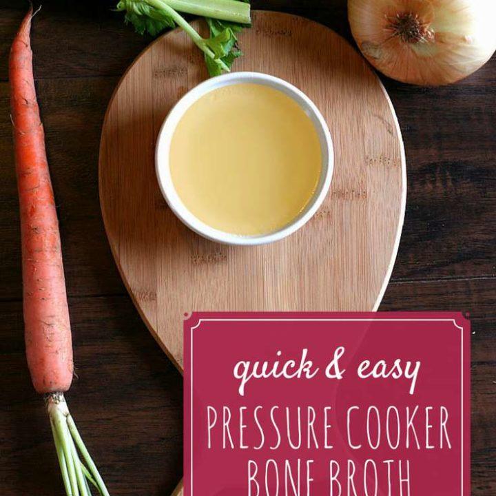 Pressure Cooker Bone Broth Recipe