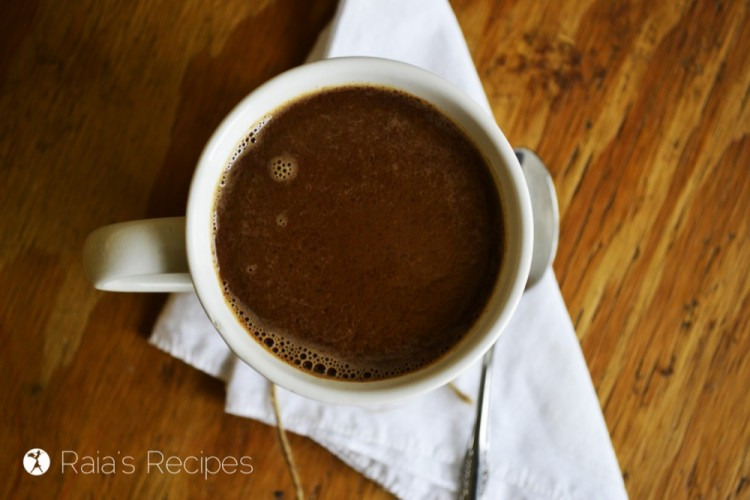 Herbal Pumpkin Mocha :: Dairy-Free, Gluten-Free, Grain-Free //deliciousobsessions.com
