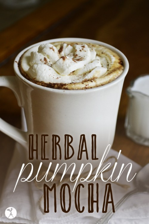 Herbal Pumpkin Mocha :: Dairy-Free, Gluten-Free, Grain-Free //deliciousobsessions.com