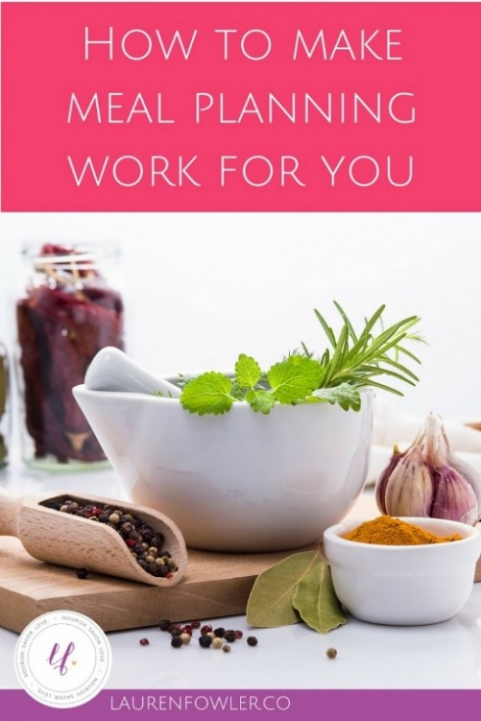 How to Make Meal Planning Work for You // deliciousobsessions.com