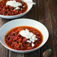 Slow Cooker Beef Chili :: Paleo, Gluten-Free, Grain-Free, Dairy-Free