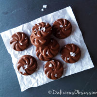5 Ingredient Chocolate Melt-Aways