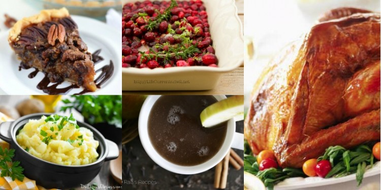 The Ultimate Gluten-Free Thanksgiving Feast // deliciousobsessions.com