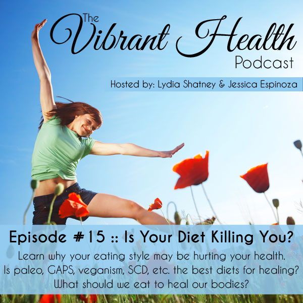 The VH Podcast, Episode 15: Is Your Diet Killing You? // deliciousobsessions.com
