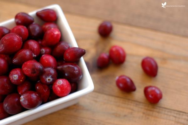 Grain Free Cranberry Apple Crisp