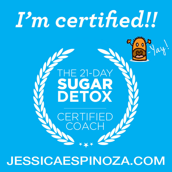 Certified 21 Day Sugar Detox Coaching with Jessica Espinoza // deliciousobsessions.com