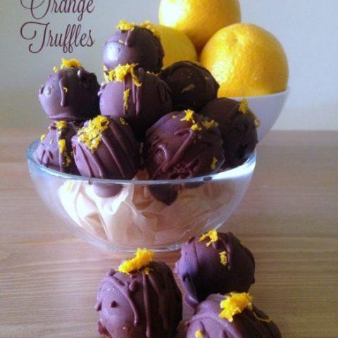 Chocolate Orange Truffles :: Gluten-Free, Grain-Free, Dairy-Free, Nut-Free