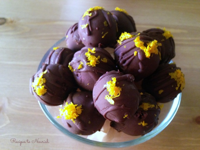Chocolate Orange Truffles | Delicious Obsessions