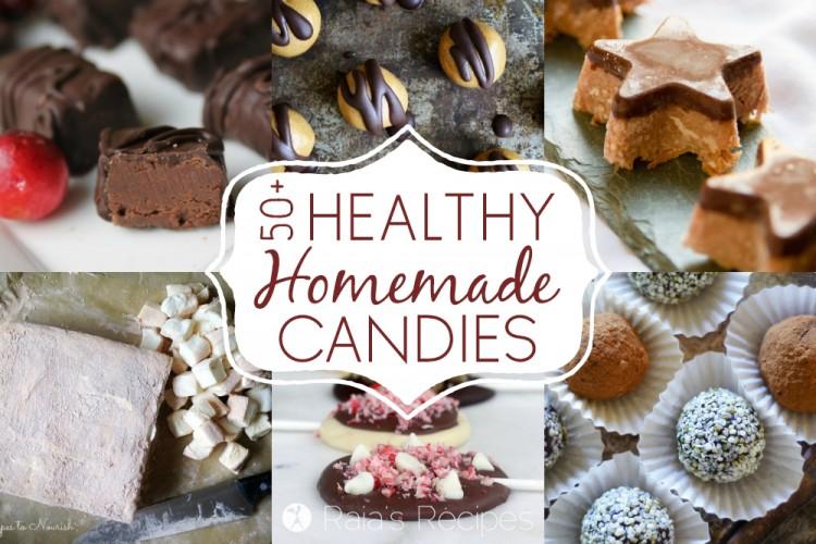 50+ Healthy Homemade Candies :: Gluten & Grain-Free, Paleo